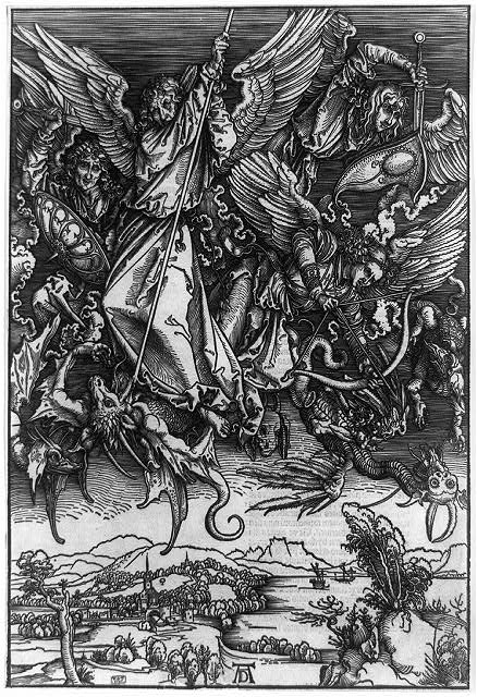 [St. Michael fighting the dragon]