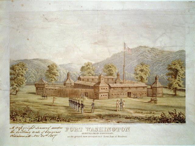 Fort Washington (Cincinnati), ca. 1790
