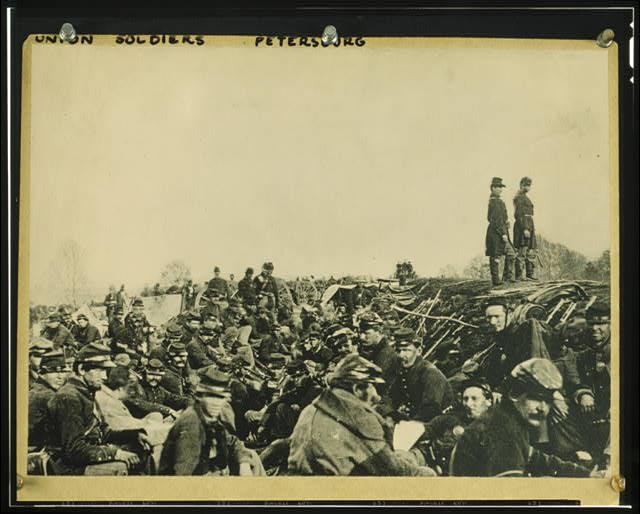 Union Soldiers at Fredericksburg, 1862