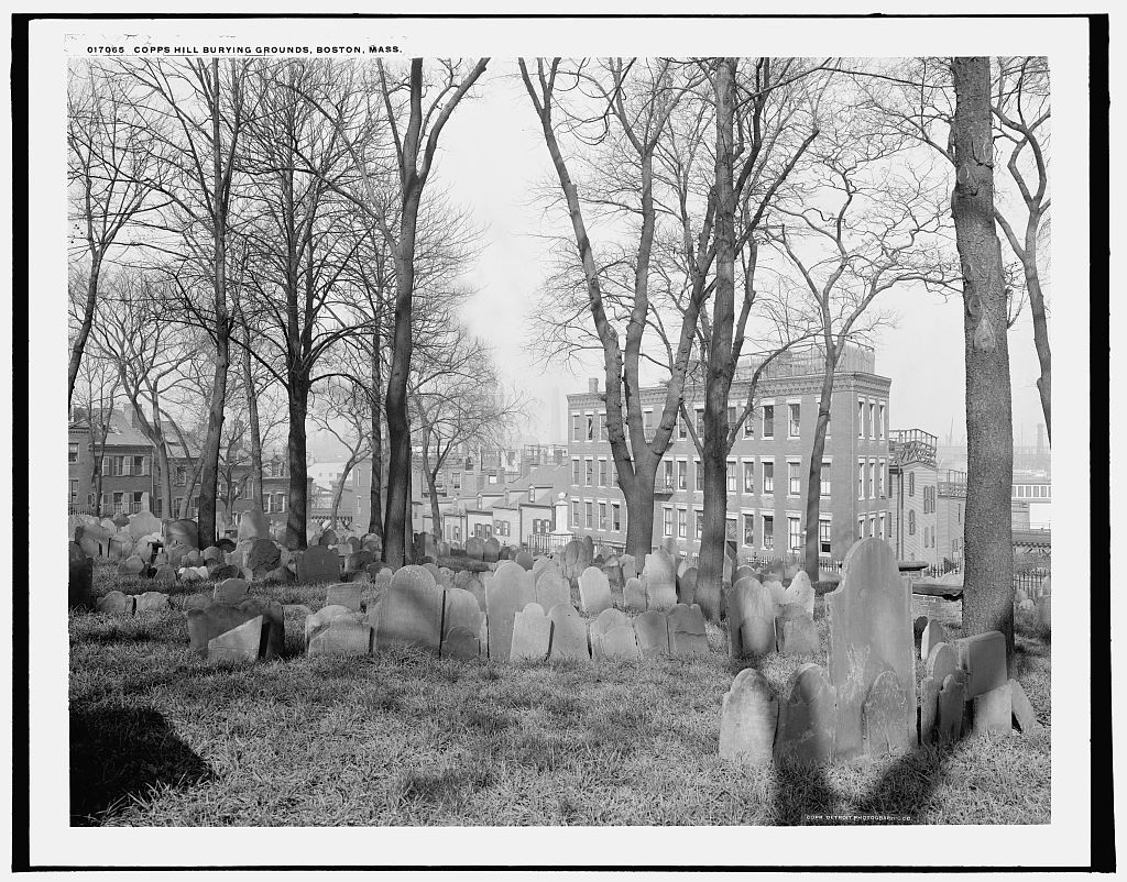 Copp's Hill Burying Ground, Boston (c. 1905)