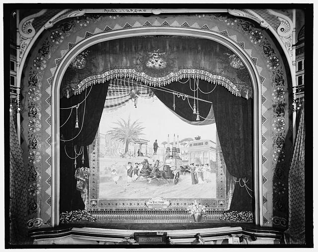 [Detroit, Mich., Lyceum Theatre, Thompson drop curtain]