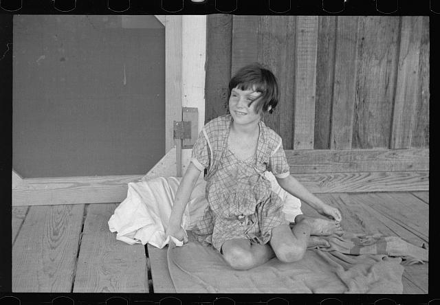 Daughter of sharecropper, Mississippi County, Arkansas