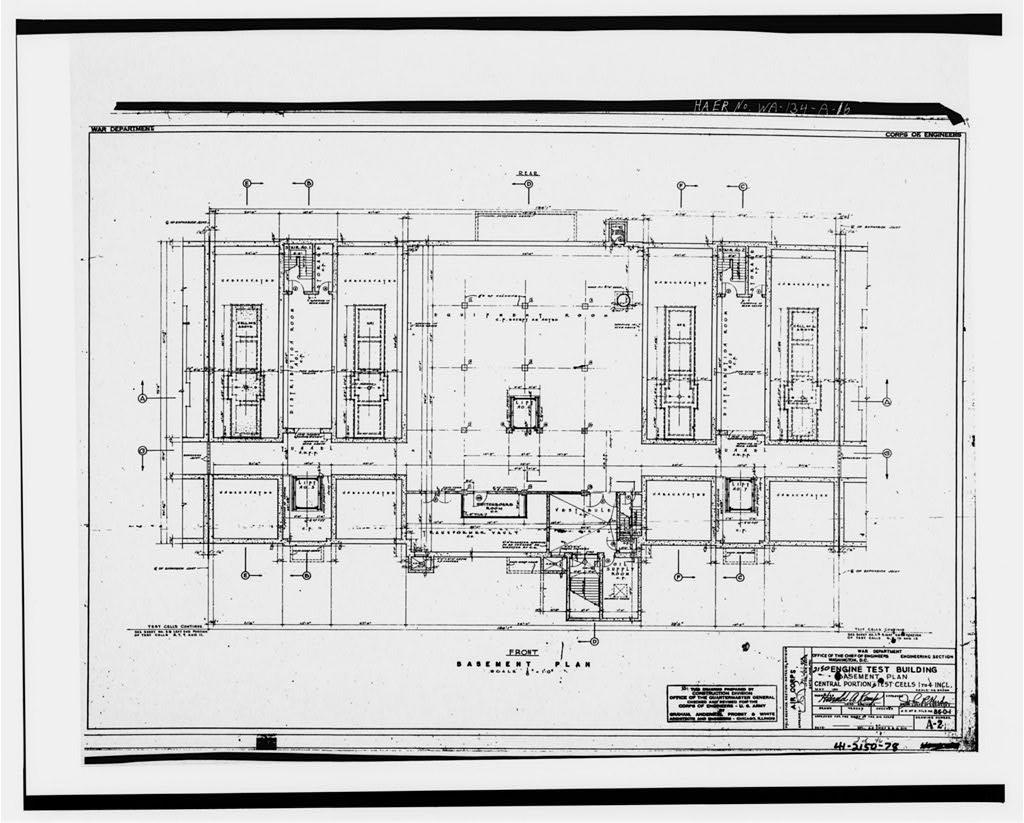 16. Photocopy of engineering drawing, May, 1941 (original