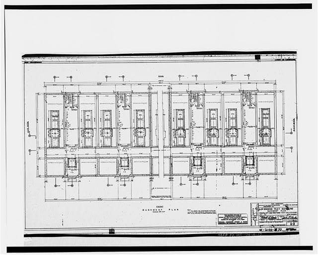 17. Photocopy of engineering drawing, May, 1941 (original