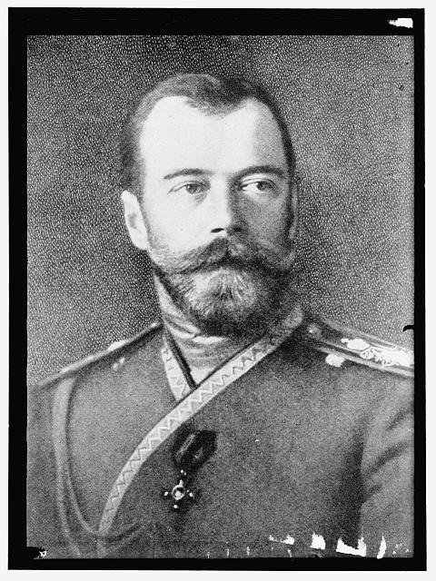 NICHOLAS II, H.I.M. CZAR OF RUSSIA