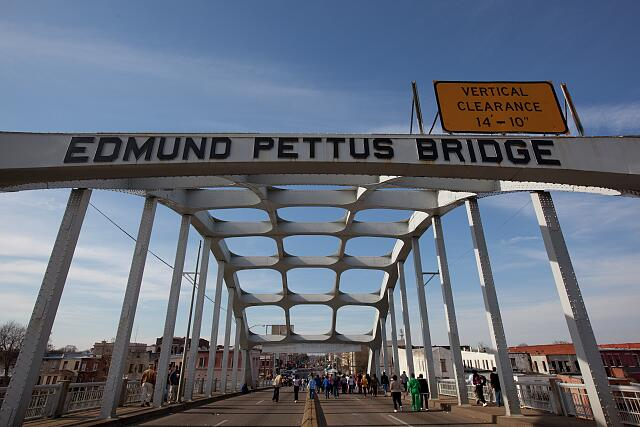 45th Anniversary of the Civil Rights March from Selma, Alabama to Montgomery, Alabama