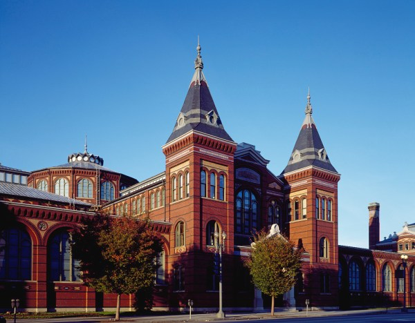 Smithsonian Institution' Arts And Industries Building