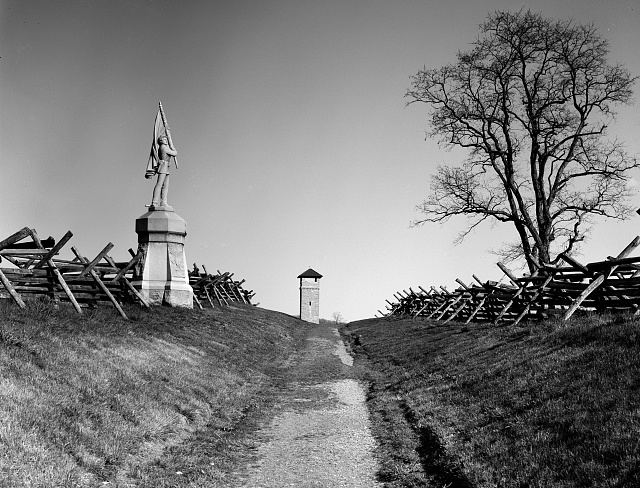 Antietam Bloody Lane Image
