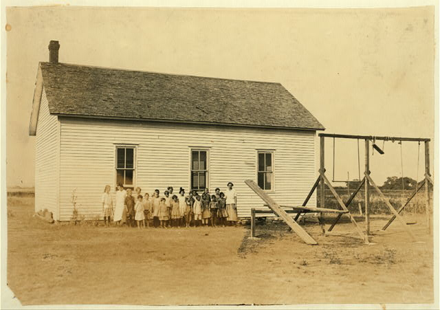 Pecan School #60; Miss Aurell, Teacher. Opened September 4th--8 months term. 22 present to-day; should be 50. Cotton picking chief cause of absence. Enrollment 30, average attendance 25; last year: enrollment 60, average attendance 37. 18 not enrolled are still out for picking.  Location: Comanche County, Oklahoma