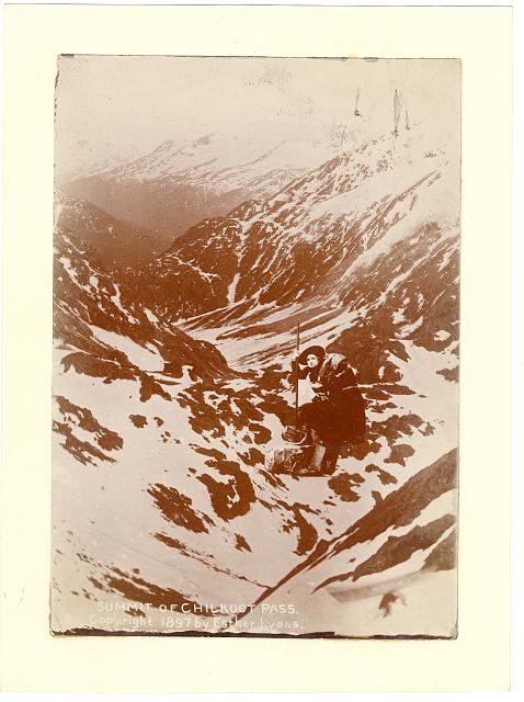Summit of Chilkoot Pass