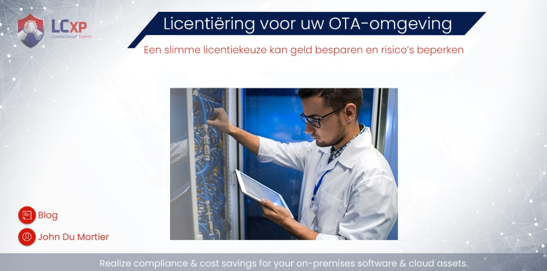 OTA software licenties