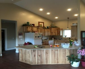 Custom Interiors - custom cabinets and countertops