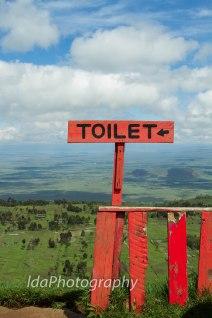 The Rift Valley, Kenya aka Toilet