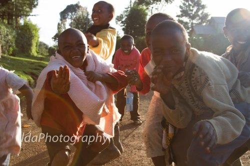 School Holidays, Aberdares, Kenya