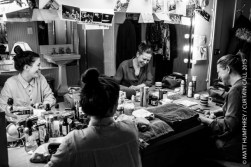 Backstage at Wyndham's Theatre during performance of 'A View From The Bridge' March 2015. Exclusive photography by Matt Humphrey for Curtain Call, with kind permission of the Producers. Mandatory permission to use images, must be requested from Photographer.