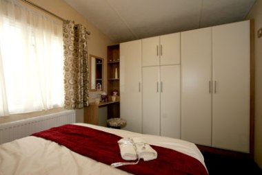 Wardrobes in the master bedroom