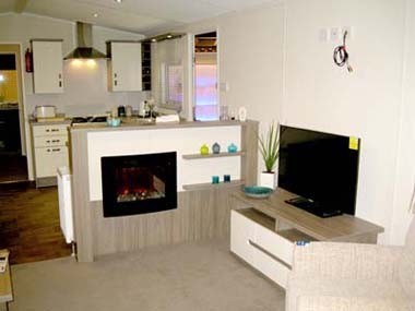 2013 Willerby Cameo lounge and kitchen