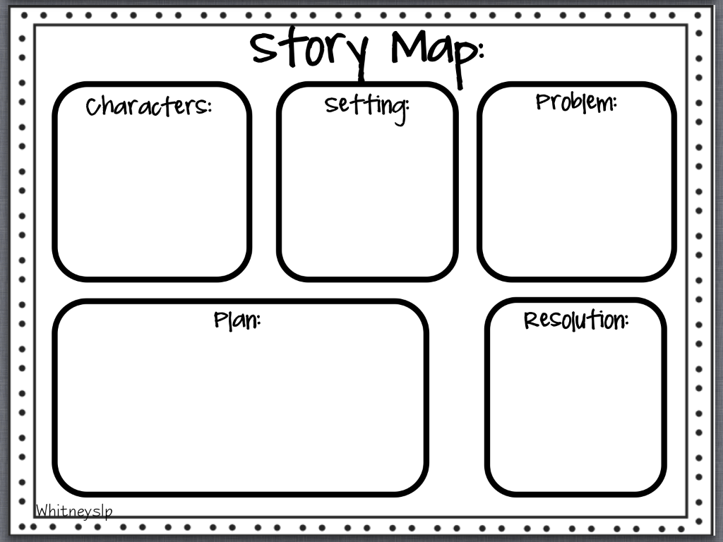 story map for 2nd grade