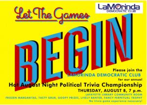 LDC 3rd Annual Hot August Trivia Contest