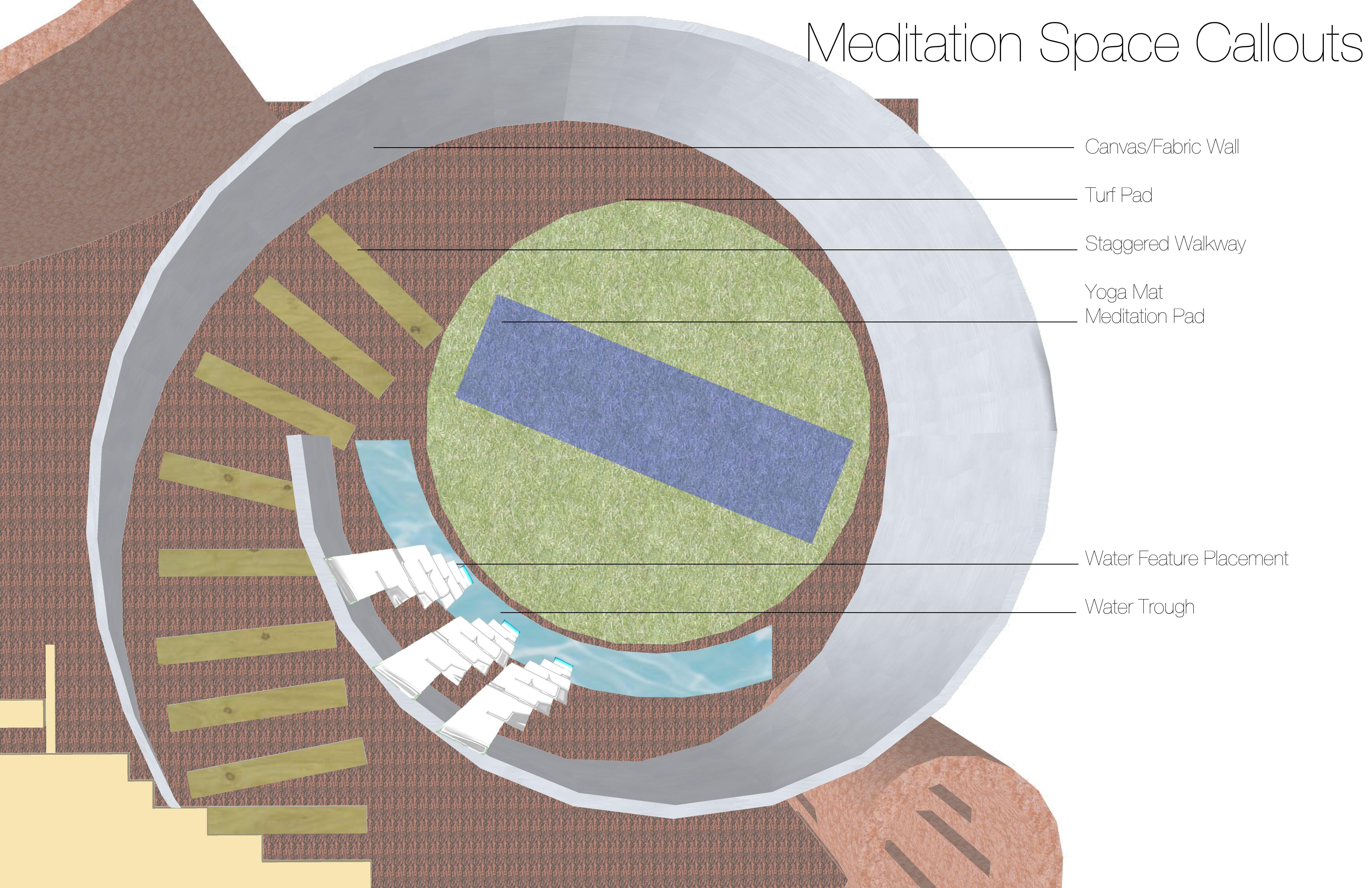 Meditation Space  Applied Landscape Architecture