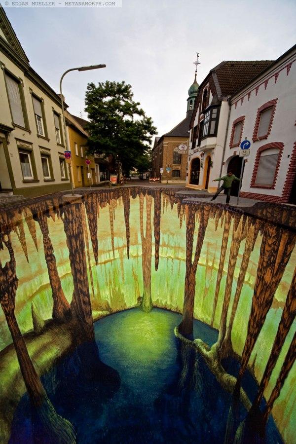 Post Modern 3d Street Art Lauren Gravatt'