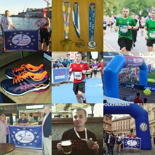 Mike's Marathons Collage