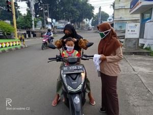 Pembagian Masker oleh LDII Tanggamus