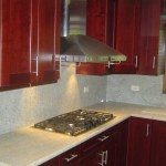 Light Kitchen Granite Counterops