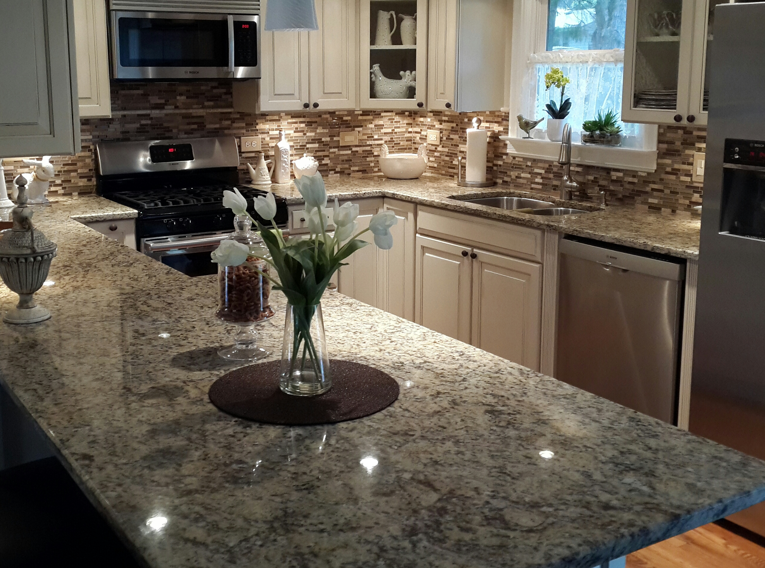 kitchen for kitchens lowes of countertops cabinet cost depot installation gray and elegant installed harmony granite home lovely