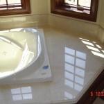 Tub Deck - Crema Marfiel