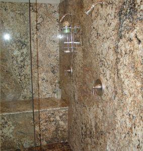 Shower walls - Granite