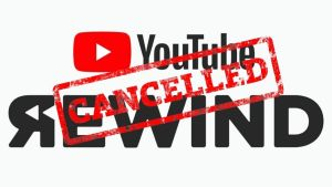 youtube rewind cancelled