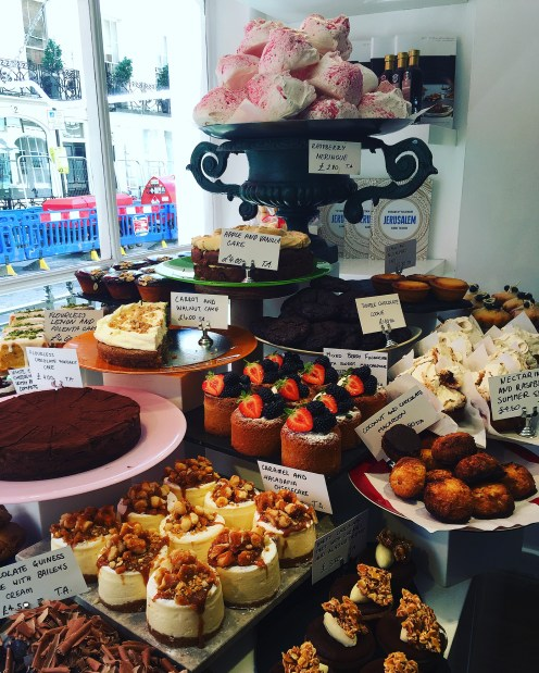 Cakes, pastries and other treats