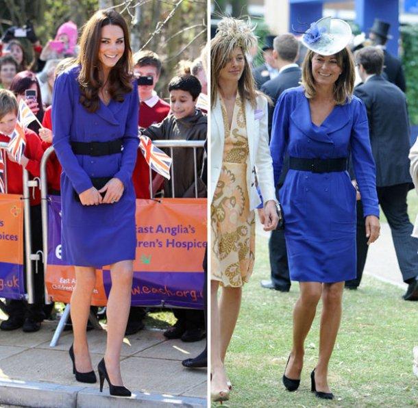 Watch kate middleton wears blue reiss dress for first solo speech