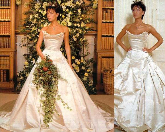 Victoria Beckham Wedding Dress