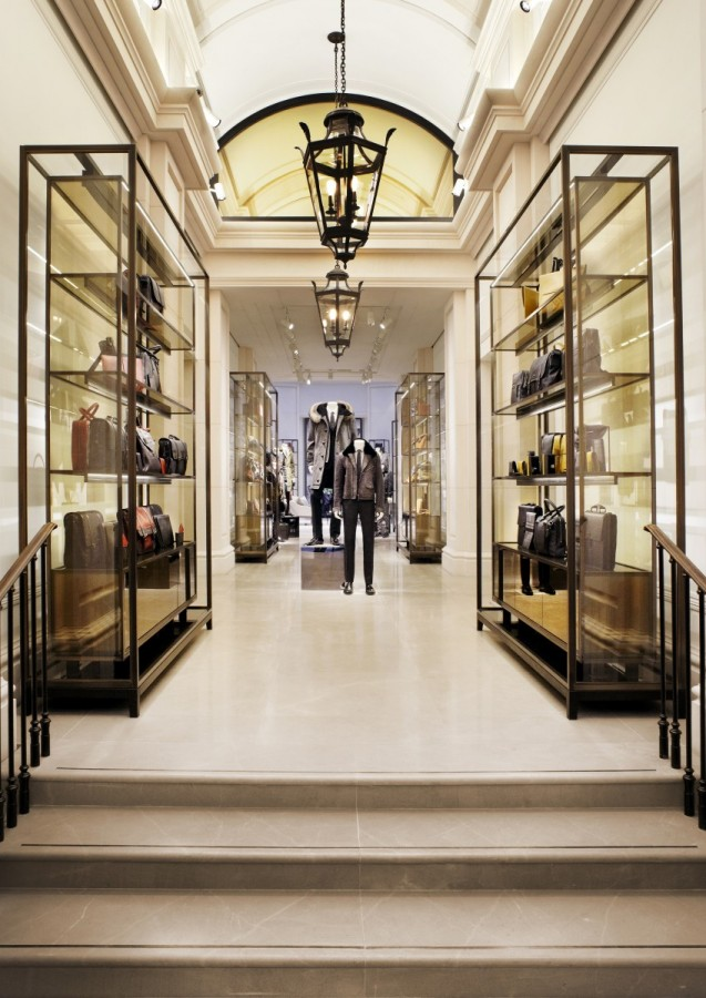 burberry opens first ever menswear store and it 39 s in knightsbridge ldnfashion. Black Bedroom Furniture Sets. Home Design Ideas