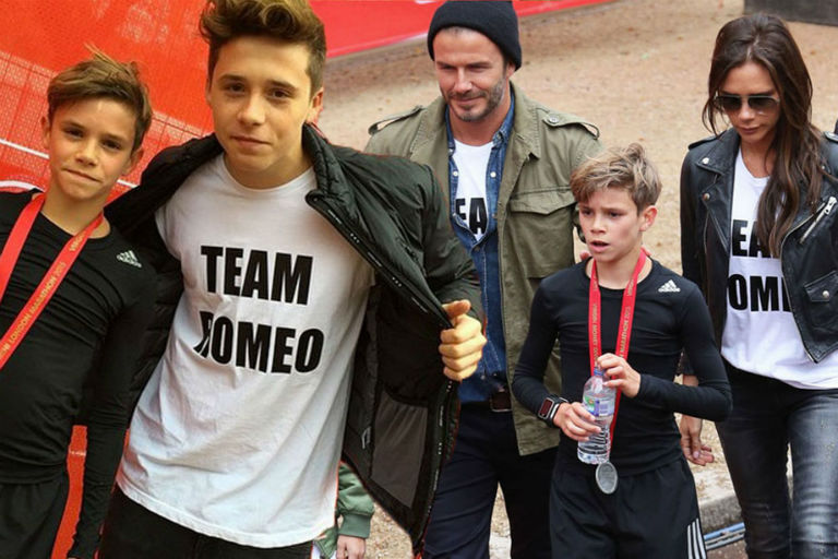 Brooklyn Beckham London Marathon