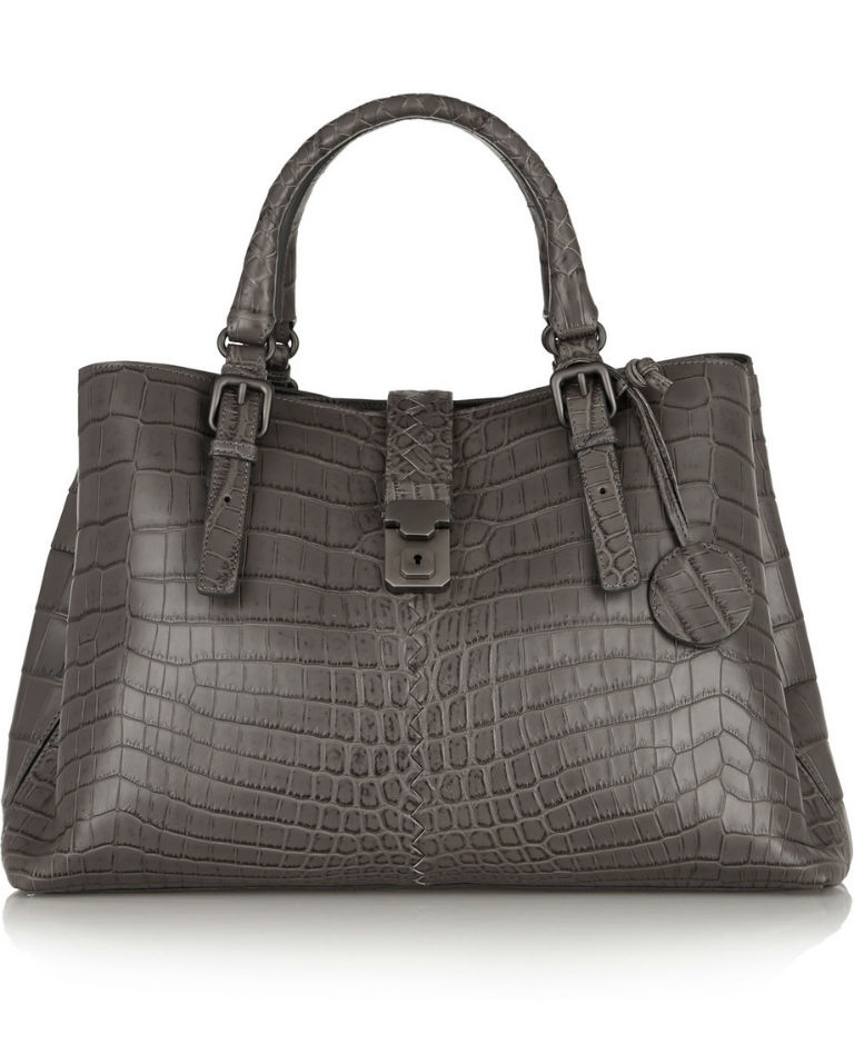 Roma Medium Crocodile Tote