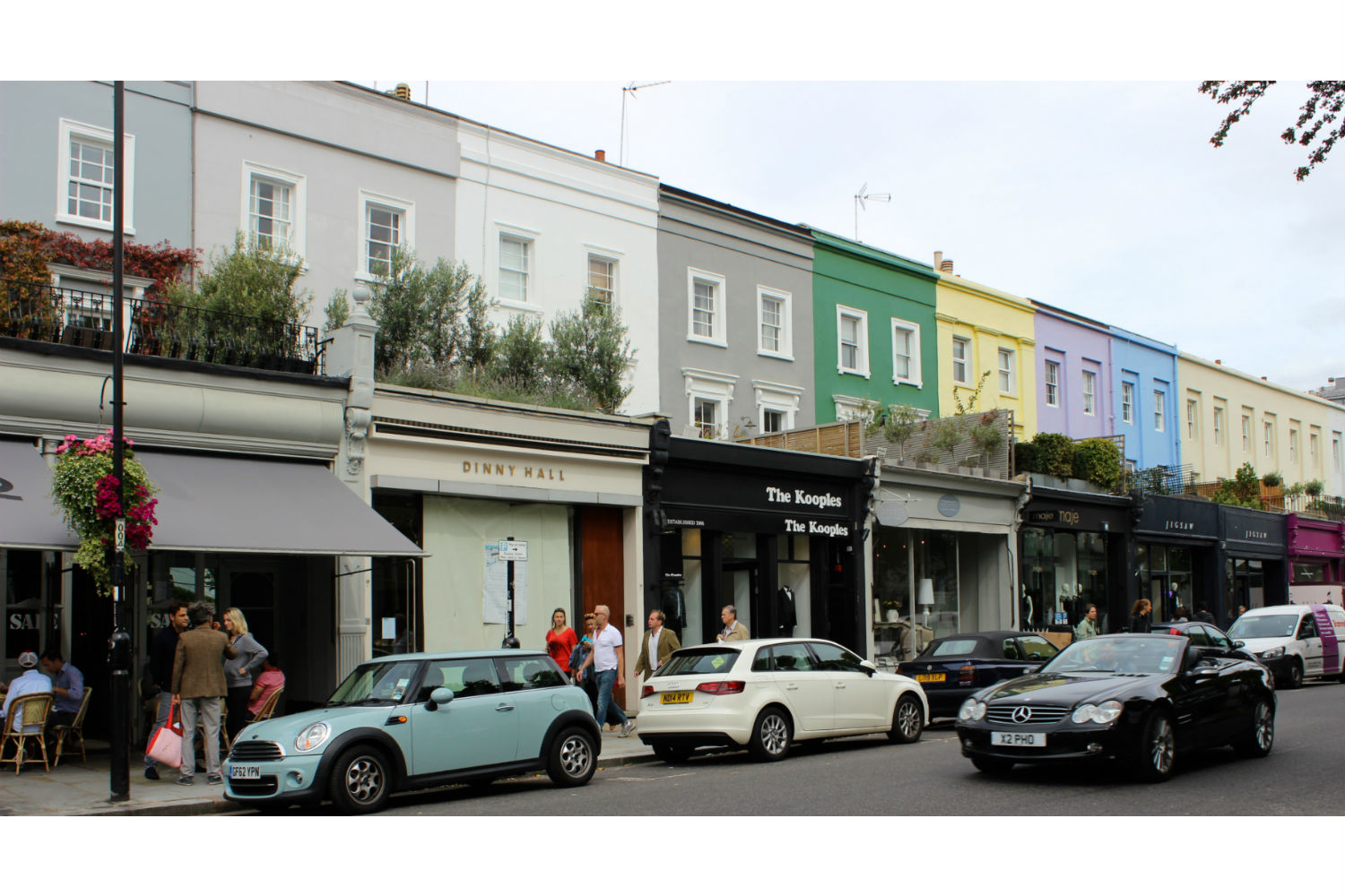 Notting Hill Ladbroke Grove top 10 shops and cafes on westbourne grove | ldnfashion