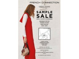 French Connection Sample Sale – 16th – 18th May 2018
