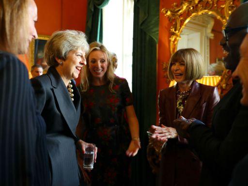 Prime Minister hosts London Fashion Week reception