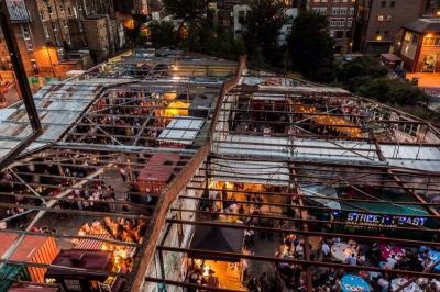 #BloggerSaturday at Street Feast - Dalston Yard - 24th August 15