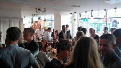 LDN Life attends the Launch of T.E.D- Think. Eat. Drink. 20