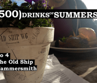 The Old Ship - No 4 - 500 Drinks of Summers 11