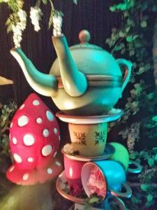 Alice in Wonderland props were great