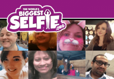 """LDN Life - Supporting """"The Worlds Biggest Selfie"""" 15"""