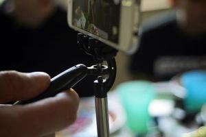 Smoovie Stabilizer Gimbal Closeup