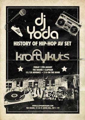 Being Grand in Clapham - DJ Yoda and £1 Cinema Club 13