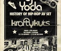 Being Grand in Clapham - DJ Yoda and £1 Cinema Club 54