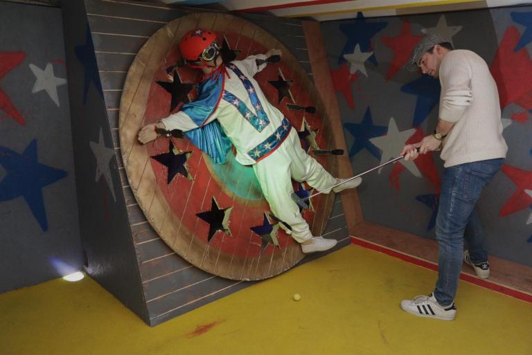 The Fear Ground Comes To Junkyard Golf Club For International Clown Week